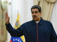 CARACAS, VENEZUELA - JULY 09: Nicolas Maduro (R) President of Venezuela speaks prior a meeting with EU special adviser for Venezuela Enrique Iglesias at Miraflores Government Palace on July 9, 2019 in Caracas, Venezuela. A recent report unveiled by UN in Geneva says the government of Nicolas Maduro killed 6856 …
