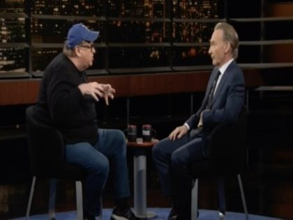 Bill Maher, Michael Moore on HBO, 9/13/2019