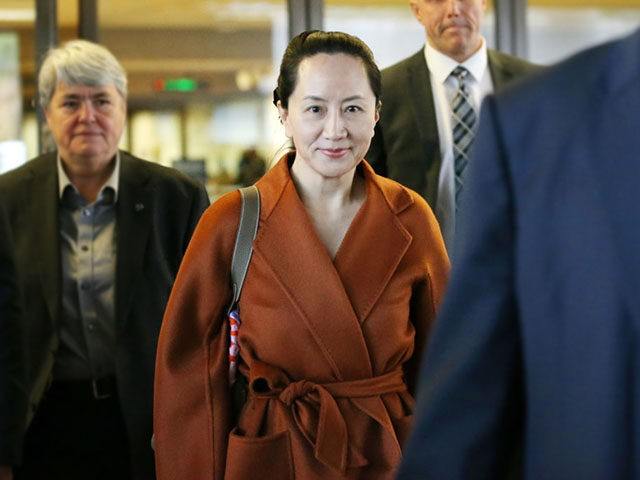 VANCOUVER, BC - SEPTEMBER 23: Huawei Technologies Co. Chief Financial Officer Meng Wanzhou leaves the British Columbia Superior Courts at lunch hour on September 23, 2019 in Vancouver, Canada. Meng was arrested by Canadian authorities last December on fraud charges and faces extradition to the United States. (Photo by Karen …