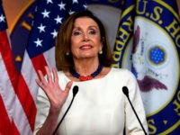 "US Speaker of the House Nancy Pelosi talks during her weekly press briefing on Capitol Hill in Washington, DC, on September 26 2019. - The White House engaged in a ""cover up"" by suppressing a record of President Donald Trump's phone call to Ukraine, now at the center of an …"