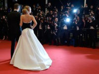 """CANNES, FRANCE - MAY 16: Blake Lively and Ryan Reynolds attend the """"Captives"""" premiere during the 67th Annual Cannes Film Festival on May 16, 2014 in Cannes, France. (Photo by Pascal Le Segretain/Getty Images)"""