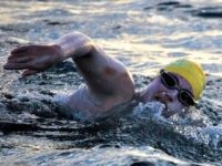 American Cancer Survivor First to Swim English Channel Four Times Nonstop