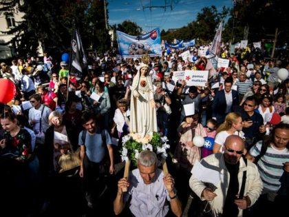 Slovakia pro-life march