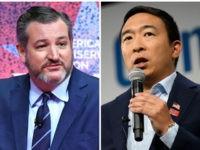 Ted Cruz, Andrew Yang