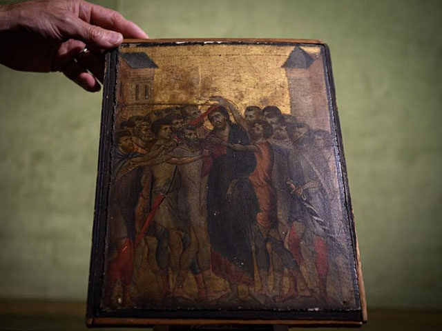 Long-lost Italian painting 'Christ Mocked' could fetch $6M at French auction