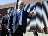 Donald Trump Shows Off Newly Constructed Wall on the San Diego Border