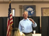 Tommy Tuberville speaks to the Cullman County, AL GOP, 9/7/2019