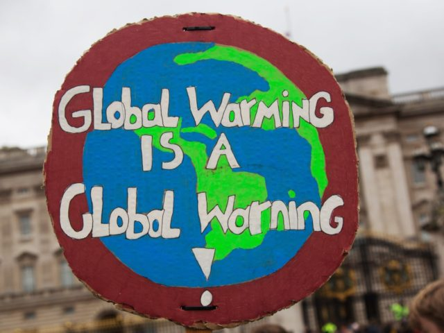 Students take part in a student climate change protest on March 15, 2019 in London, England. Thousands of pupils from schools, colleges and universities across the UK will walk out today in the second major strike against climate change this year. Young people nationwide are calling on the Government to …