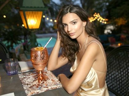 LOS ANGELES, CA - JUNE 10: Actress/Model Emily Ratajkowski's celebrates her 25th birthday at the private residence of Absolut Elyx CEO Jonas Tahlin on June 10, 2016 in Los Angeles, California. (Photo by Rachel Murray/Getty Images for Absolut Elyx)