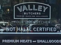 Aussie Butcher Refuses to Remove 'Not Halal' Sign