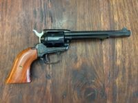 The Heritage Manufacturing Rough Rider is an Old West six-shooter in .22 long rifle, which is perfect for plinking and putting on a hurting on some empty soft drink cans.