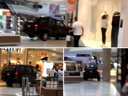 Video: SUV Plows Through Woodfield Mall in Chicago Suburb