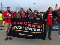 Communists Protest at ICE Warden's Home: 'No Borders, No Nations!'