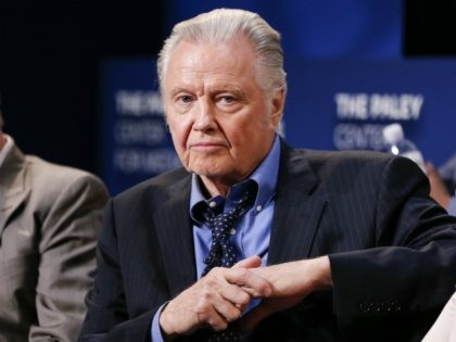 """BEVERLY HILLS, CA - JULY 26: Actor Jon Voight on stage at PaleyLive - An Evening With """"Ray Donovan"""" at The Paley Center for Media on July 26, 2016 in Beverly Hills, California. (Photo by Rich Polk/Getty Images for Showtime)"""