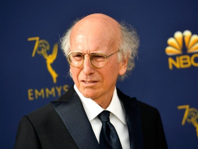 LOS ANGELES, CA - SEPTEMBER 17: Larry David attends the 70th Emmy Awards at Microsoft Theater on September 17, 2018 in Los Angeles, California. (Photo by Matt Winkelmeyer/Getty Images)