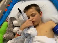When James and Ruth Auten's son,Brayden, came home from school in April feeling sick, his parents took him to the Milwaukee Children's Hospital and doctors discovered an aggressive unknown virus was attacking his liver.