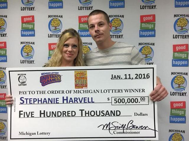 lottery couple