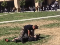 VIDEO: Marine Tackles Teens During Fight at California High School