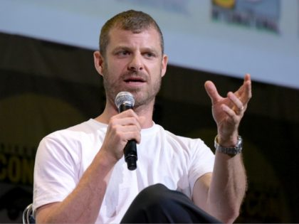 """Matt Stone attends the """"South Park"""" panel on day 2 of Comic-Con International on Friday, July 22, 2016, in San Diego. (Photo by Richard Shotwell/Invision/AP)"""