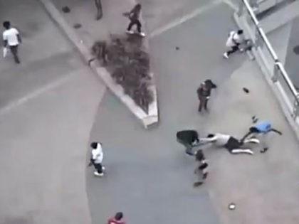 VIDEO: Mob Pummels Man Outside Minnesota's Target Field