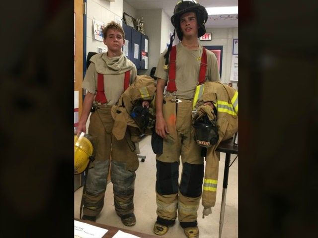 Two Florida students climbed 100 flights of stairs to honor the victims who perished in the 9/11 attacks 18 years ago.