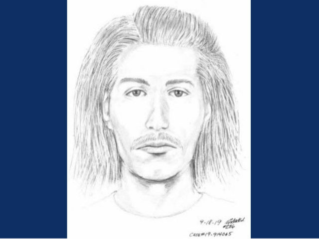 Santa Clara Police are looking for a suspect who allegedly attacked a 91-year-old man while he was visiting his wife's gravesite in California.