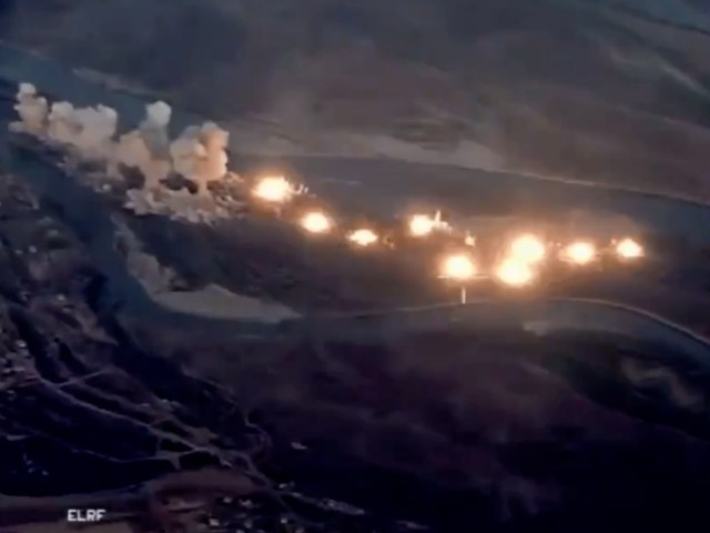 Watch: Islamic State Island Cleared by 80,000 Pounds of U.S. Bombs