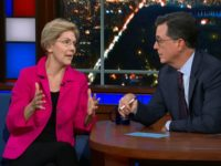 Watch: Stephen Colbert Stumps Elizabeth Warren over Middle Class Tax Hikes