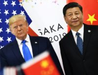 Trump hardens tone on China as trade war rattles economy