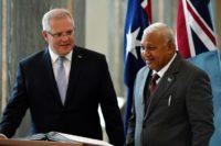 Australia, Fiji attempt to bury climate hatchet
