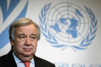 'We are losing the race' on climate catastrophe, warns UN chief