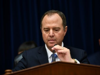 House Intelligence Committee Chairman Adam Schiff, the Democrat leading the impeachment investigation of US President Donald Trump