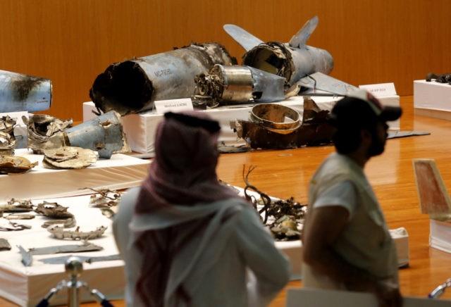 Saudi Arabia says Iran missiles, drones attacked oil sites