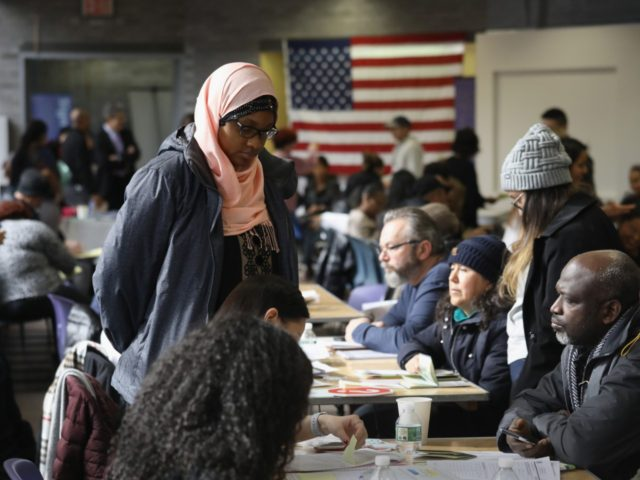 "NEW YORK, NY - FEBRUARY 03: Immigrants receive assistance with their U.S. citizenship applications at a Citizenship Now! event on February 3, 2018 in New York City. The event, held by the City University of New York (CUNY), assisted more than 100 U.S. permanent residents or ""green card"" holders with …"