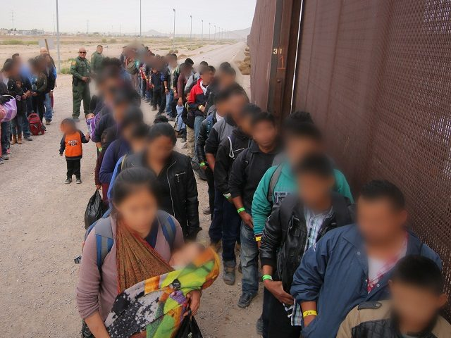 Border Patrol Agents (BPA) assigned to El Paso Sector, El Paso Station (EPT/EPS) apprehended a group of approximately 127 illegal aliens.