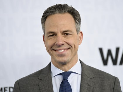 CNN news anchor Jake Tapper attends the WarnerMedia Upfront at Madison Square Garden on Wednesday, May 15, 2019, in New York. (Photo by Evan Agostini/Invision/AP)