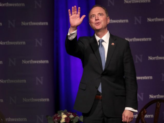 Rep. Adam Schiff (D-CA) delivers a lecture on The Threat to Liberal Democracy at Home and Abroad at Cahn Auditorium on the campus of Northwestern University on October 03, 2019 in Chicago, Illinois. Schiff is Chairman of the House Intelligence Committee. (Photo by Scott Olson/Getty Images)