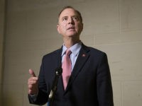 House Intelligence Committee Chairman Adam Schiff, of Calif., speaks with reporters after a meeting with former U.S. ambassador to Ukraine, Marie Yovanovitch, on Capitol Hill, Friday, Oct. 11, 2019, in Washington. (AP Photo/Alex Brandon)