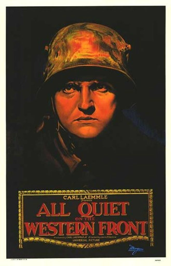 All Quiet on the Western Front film poster.