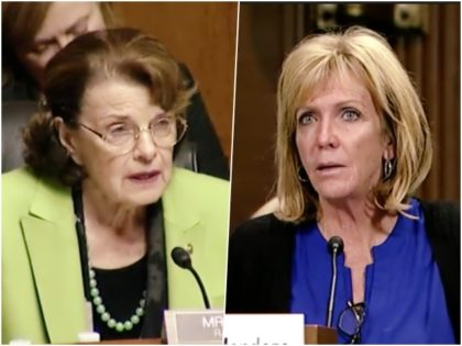 Watch – Angel Mom to Dianne Feinstein: Angel Families 'Should Be Mattering,' Not Illegal Aliens