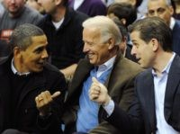 Barack Obama, Joe Biden, Hunter Biden (Alexis C. Glenn-Pool / Getty)