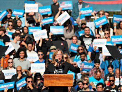 Bernie Rally, San Juan Mayor