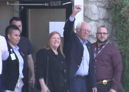 Bernie Sanders Leaves Hospital