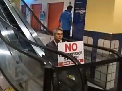Boston University Environmental Protest