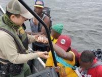 Del Rio Station Border Patrol agents rescue six Haitian migrants from Rio Grande. (Photo: U.S. Border Patrol/Del Rio Sector)