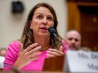 The DC Project Founder Dianna Muller speaks at a House Judiciary Committee hearing on assault weapons on Capitol Hill in Washington, Wednesday, Sept. 25, 2019. (AP Photo/Andrew Harnik)