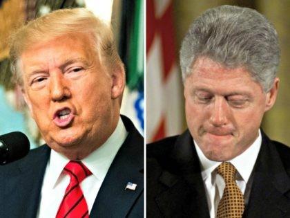 Donald Trump Compared to Bill Clinton