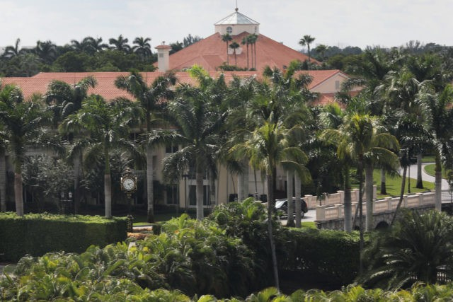 DORAL, FLORIDA - OCTOBER 17: A building is seen on the grounds of the Trump National Doral golf resort owned by U.S. President Donald Trump's company on October 17, 2019 in Doral, Florida. White House chief of staff Mick Mulvaney announced today that the resort will host the Group of …