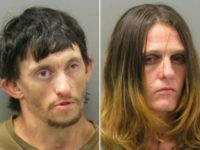 "Reports said police in Hot Springs pulled over Elizabeth Marie Catlett, 29, and Don Russell Furr, 33, of Arkansas on Sunday morning when they noticed their car's headlights were not on. Upon arrest for allegedly having drug paraphernalia inside her car, the woman claimed her brother fed her a ""meth sandwich."""
