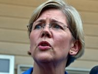 Harvard Law professor and consumer advocate, Democrat Elizabeth Warren, speaks to reporters outside the J & M Diner in Framingham, Mass., Wednesday, Sept. 14, 2011, during her first day of campaigning for a shot at challenging incumbent Republican Sen. Scott Brown in 2012 for his U. S. Senate seat. (AP …